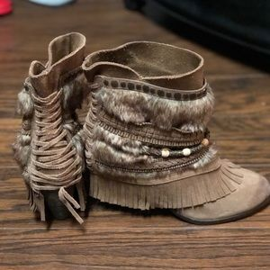 Leather boots (Dirty Monkey)
